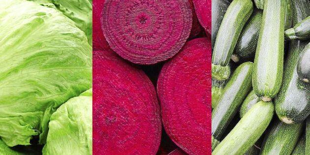 Så äter du grönsaker på nya sätt