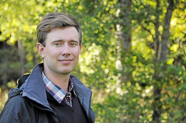 """""""Virkespriserna i Baltikum rör sig i kortare cykler än i Sverige och även högsta och lägsta pris ligger längre ifrån varandra"""", säger Carl Kling."""