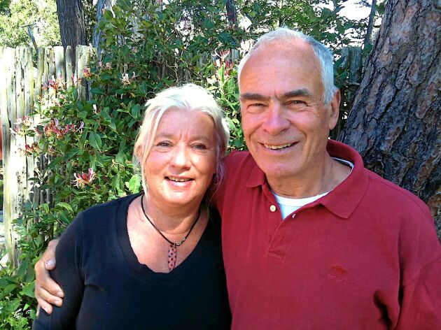 Marianne och Peter Norrthon byggde ett klimatsmart naturkylskåp som bygger på jordkyla.