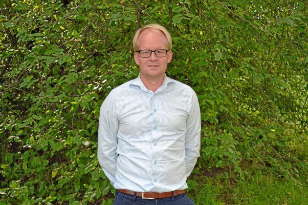 Claes Johansson, hållbarhetschef Lantmännen.