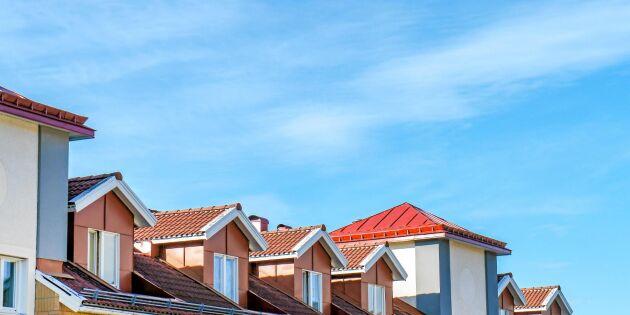 Nio av tio kommuner har brist på bostäder