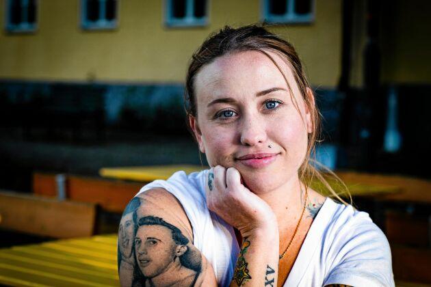 """Kaytie Hubis, deltagare i """"Allt för Sverige"""" 2019."""