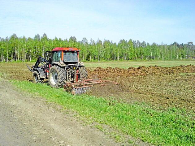 Vårbruk utanför Luleå.