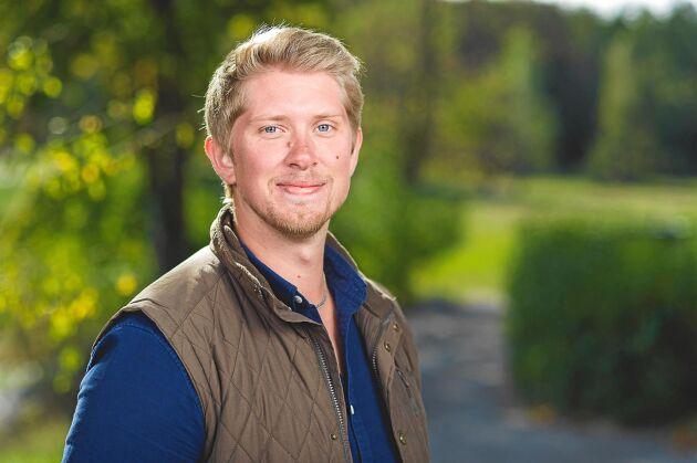 Hönsbonden Erik letar efter kärleken i Bonde söker fru hösten 2018.