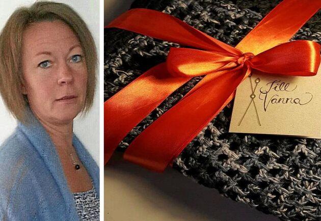 Marita Magnerfelt hedrade sin döda väninna på ett personligt sätt.