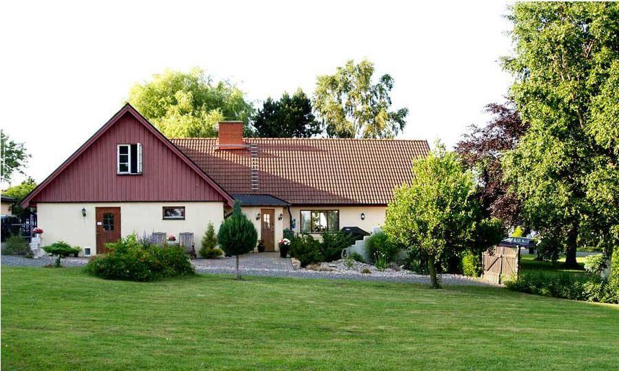 Sannas och Patriks nya hem i Simrishamn.