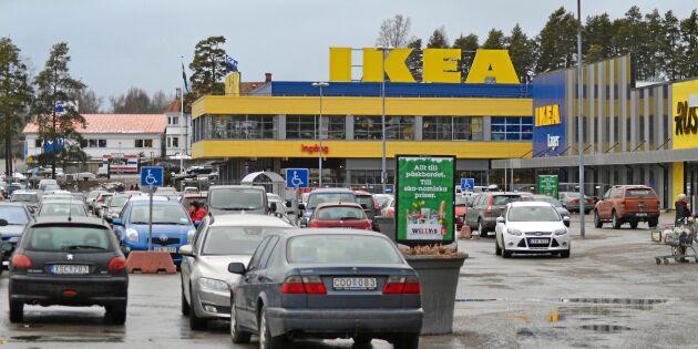 Ikeas pilotförsök: Slutar ta emot kontanter