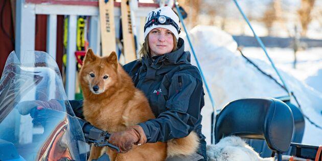 Jenny älskar livet som fångstkvinna och viltspårare i Norrbotten