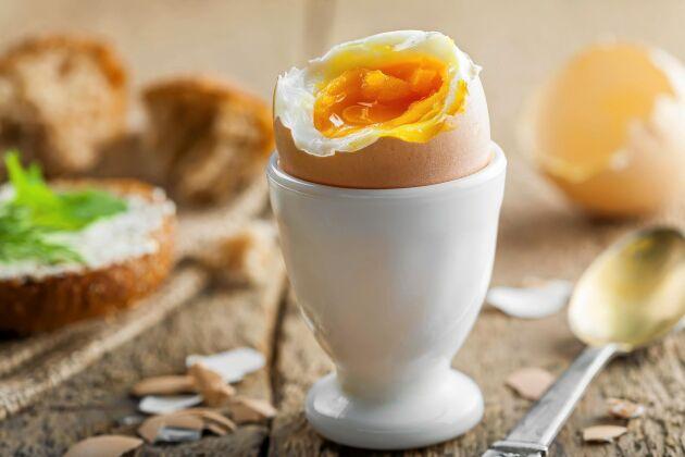 Ägg innehåller nästan alla näringsämnen din kropp behöver. Dessutom minskar ett ägg om dagen risken att drabbas av diabetes.