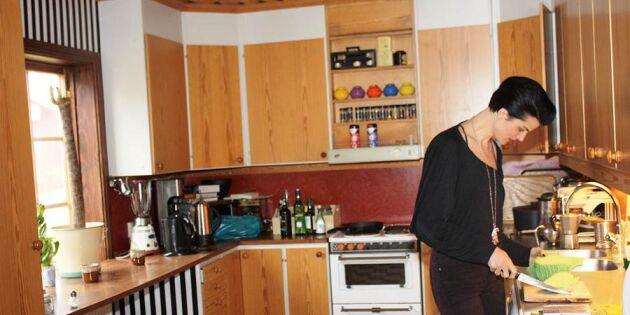 Hemma hos Karin Park i en missionskyrka i Dalarna