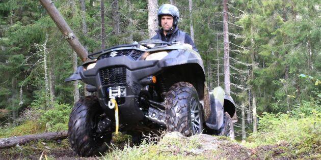 ATV-test: En fyrhjuling för den som gillar äventyr
