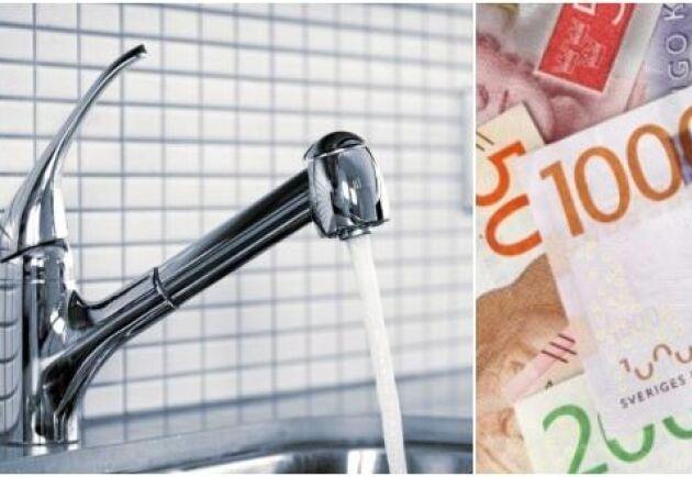 Stödet på 45 miljoner kronor ska verka för bättre vattenhushållning och tryggare tillgång till dricksvatten. Arkivbild.