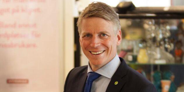 """Konsumentminister Per Bolund: """"Jag träffade kungen i loppisskor"""""""