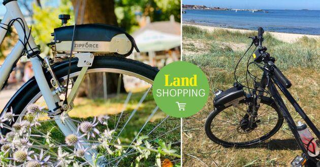 Hållbart och klimatsmart alternativ, använd din befintliga cykel i stället för att köpa en helt ny elcykel. Zipforce i sig är också klimatsmart med en återvinningsgrad om 80-90 %.