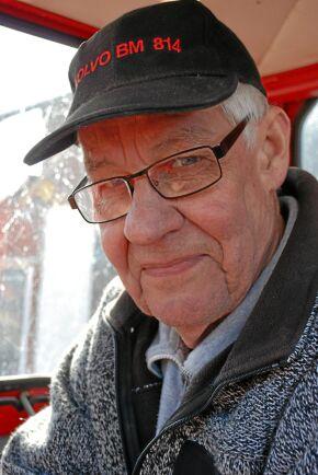 Bengt Johansson är en erfaren 814-förare.