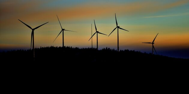 Vindkraften sätter nya rekord