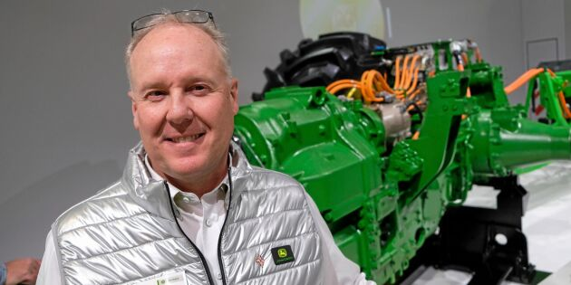 John Deere tror på en framtid som går på el