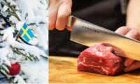 Mycket svenskt i köttdisken till nyår