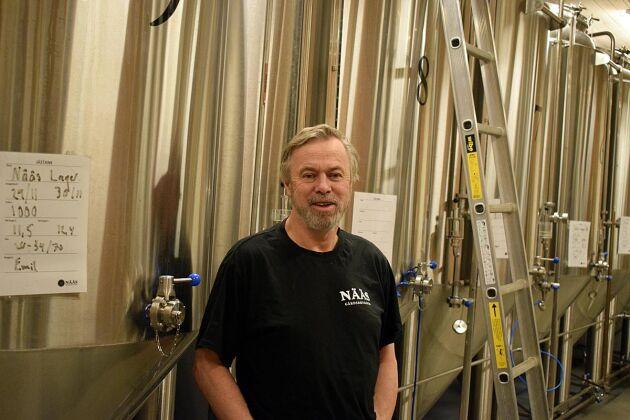Gunnar Emanuelsson hoppas på att kunna brygga mer öl under 2018.