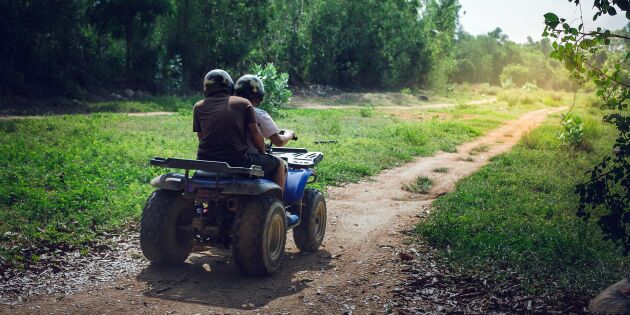 Fyrhjulingar går mot rekordår