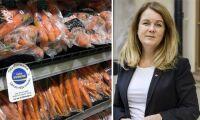 Landbygdsministern uppmanar till att handla svenskt