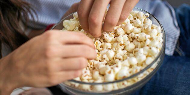 Därför är popcorn nyttigt för dig