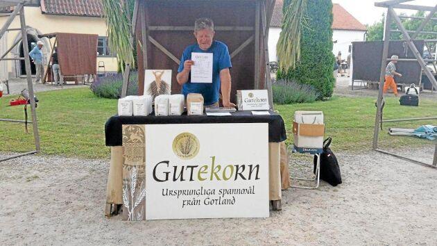 Sten Rosvall är drivande inom den ekonomiska föreningen Gutekorn.