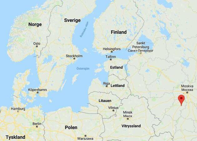 Kalugaregionen ligger ett 10-tal mil sydväst om Moskva. I den lilla staden Mosalski med drygt 9000 invånare finns det cirka 1 600 bakgårdsbönder som tillsammans har 350 kor.