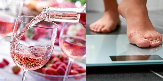 Se upp! Så många kalorier innehåller ett glas vin