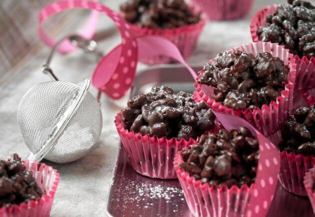 På nolltid har du massvis med knaprigt gott chokladsnask.