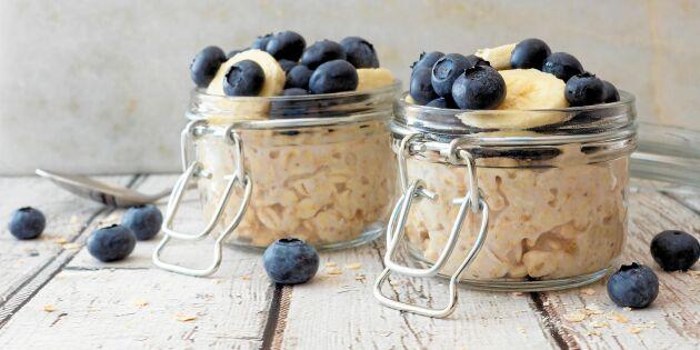 Overnight oats – snabb frukostgröt