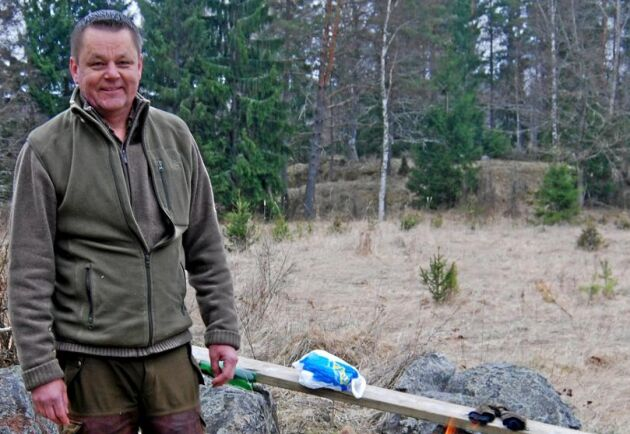Efter två år lyckades skogsägaren Christer Danielsson iUppsala få ersättning för ett område som registrerats som nyckelbiotop.