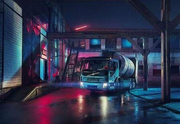 Volvos eldrivna lastbilsmodell, Volvo FE Electric, kommer ut på marknaden 2019.