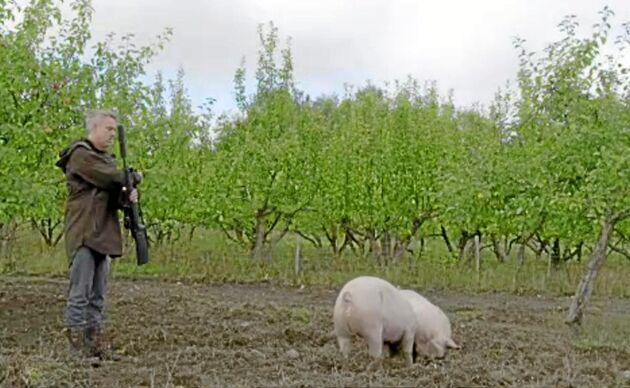 Henrik Schyfferts grisar ser döden i vitögat.