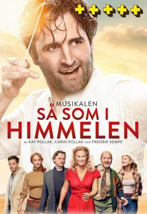 """Lena Ernman spelar Gabriella i succémusikalen """"Så som i himmelen""""."""