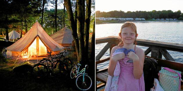 Wow! Kolla in nya lyxiga campingtrenden glamping