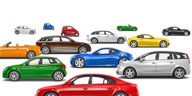 Vilka bilfärger är mest populära?