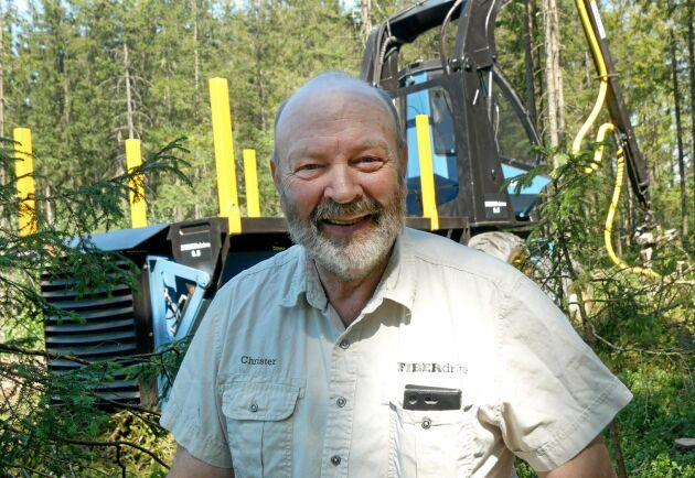 Uppfinnaren Christer Lennartsson.