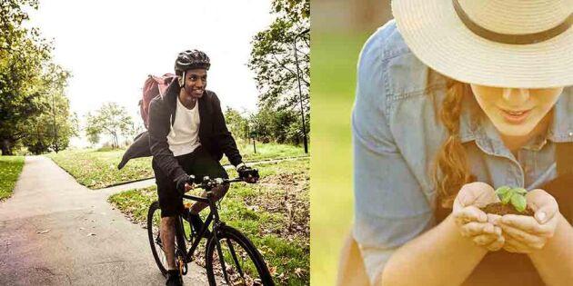 Bli eko-smart i sommar! 10 smarta tips
