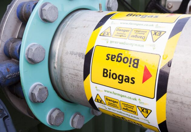 Biogas. Arkivbild.