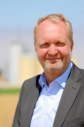 Lantmännens spannmålschef, Mikael Jeppsson.