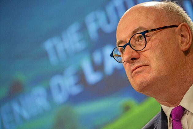 Phil Hogan har varit både jordbrukskommissionär och handelskommissionär.