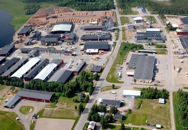 Setras anläggning i Malå.