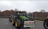 Fortsatta traktorprotester i Europa