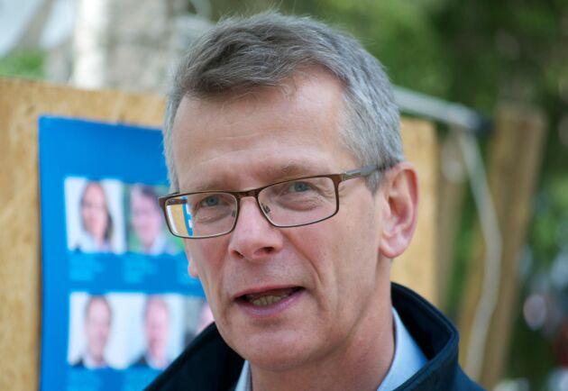– Vi ser en klassisk konjunkturnedgång, säger Johan Freij om nedgången för skogssektorn.