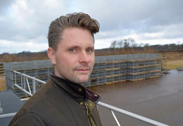 Kristian Persson, vd för Nordic Plantcenter.