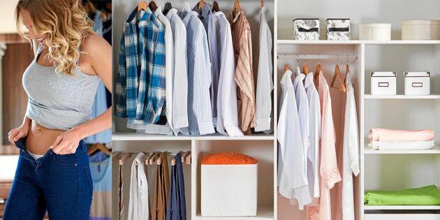 Så enkelt rensar du i garderoben: Smart och systematisk metod