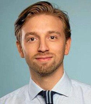 Christian Doverhjelm, medlem i Medborgelig Samling och jurist med inriktning offentlig rätt.