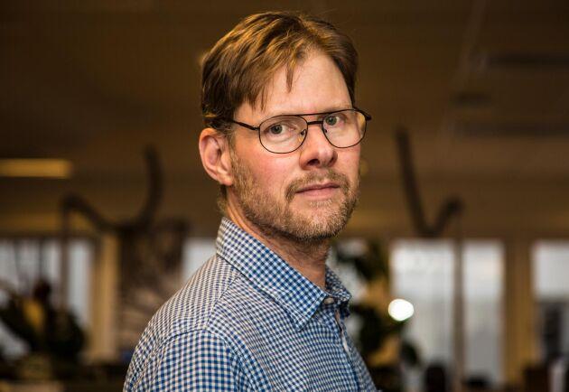 Räddningstjänsten visste inte vilka resurser och vilken förmåga vi har, säger Anders Drottja, krisberedskapsansvarig på LRF.