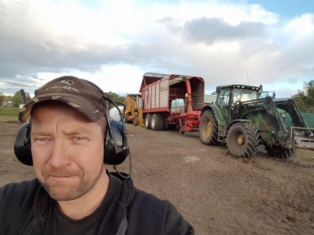 De ökande foderkostnaderna gör att Per Eriksson tvingas lämnat in konkursansökan.